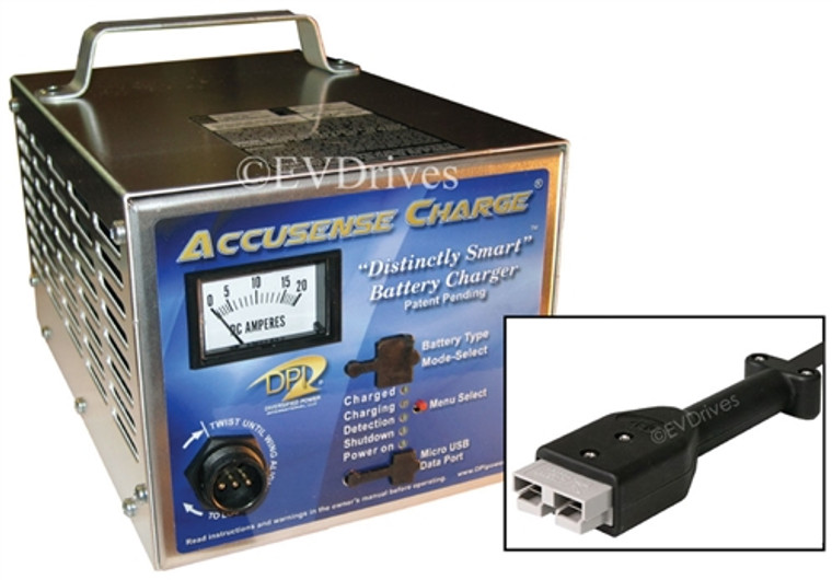 DPI  Battery Charger 48V 17A with SB50 Connector - Gen IV - Accusense Intelligent Charger