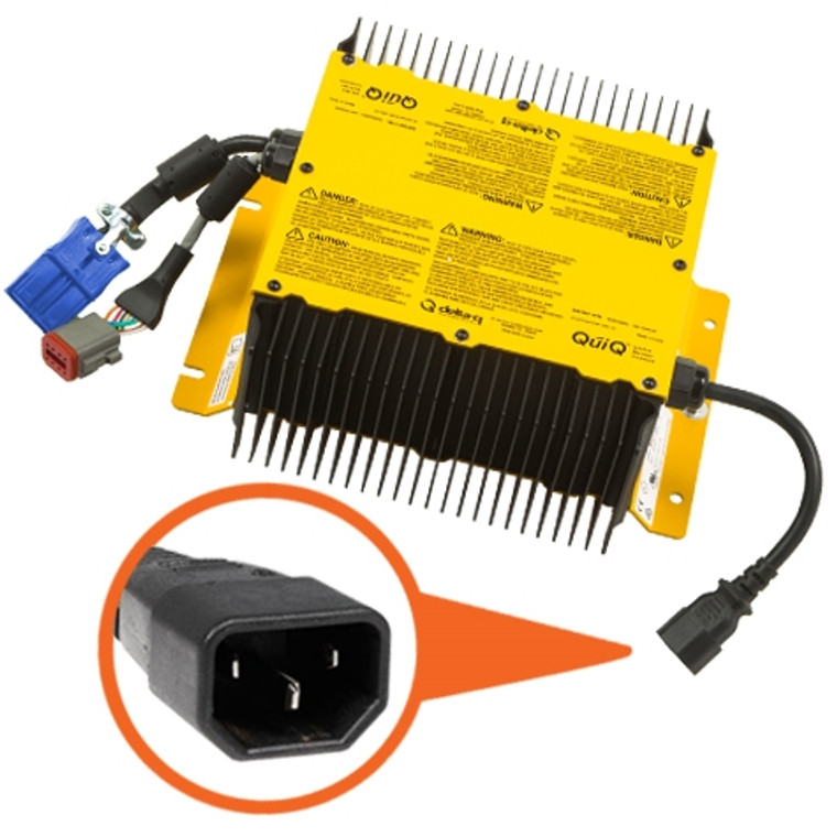 Delta-Q QuiQ-Icon On-Board 48V Battery Charger 912-4854