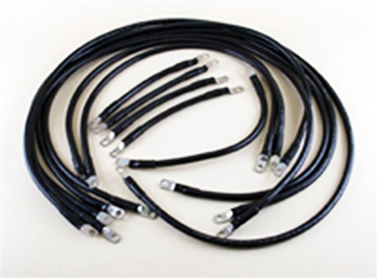 2 AWG Complete Cable Kit for E-Z-Go TXT48 - Regen