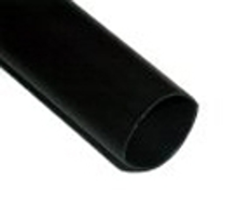 """Heat Shrink Primary Tube Black 1/2"""" - Sold by the Foot"""