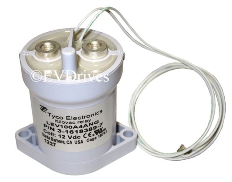 Tyco 100 Amp 12V Relay / Contactor / Solenoid LEV100 KILOVAC - LEV100A4ANG (3-1618389-7)