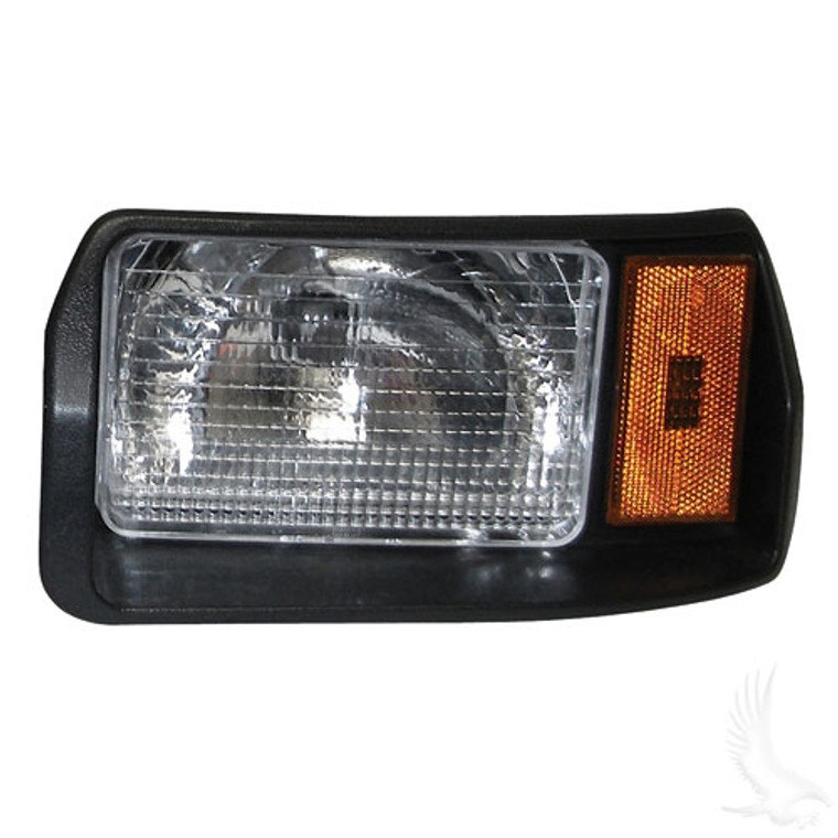 HEADLIGHT ASSEMBLY, DRIVER SIDE FOR CLUB CAR DS