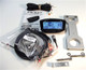 """EXRAY-MEZ-RXV Speedometer Kit - For E-Z-Go RXV Golf Carts - CNC Mount 1.59"""""""