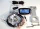 "EXRAY-MEZ Speedometer Kit - For E-Z-Go Golf Carts - CNC Mount 1.51"" (Howell Spirit, Fairplay, Star)"