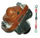 Golf Cart Upgrade Kit - Admiral MOT-D2 Motor, XCT48500 Controller & Accessories For G19 / G22
