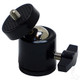Universal Speedometer/Camera Bracket, 360 Degree Swivel Base, Flush Mount Base - Bent