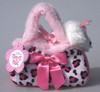 FP PET CARRIER - PRINCESS DOG IN PINK LEOPARD BAG
