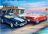 JENNY SANDERS - A CLUSTER OF MUSTANGS 1000PCE PUZZLE