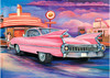 JENNY SANDERS - PINK CADDY AT THE CARHOP DINER 1000PCE PUZZL