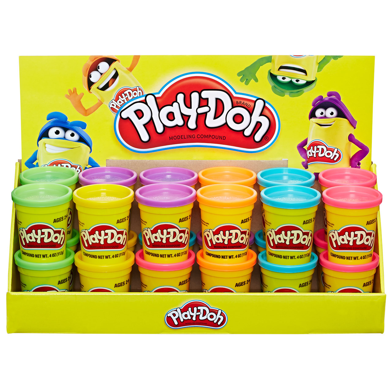 56a8a83475 PLAY DOH SINGLE CAN AST - Uncle Pete s Toys