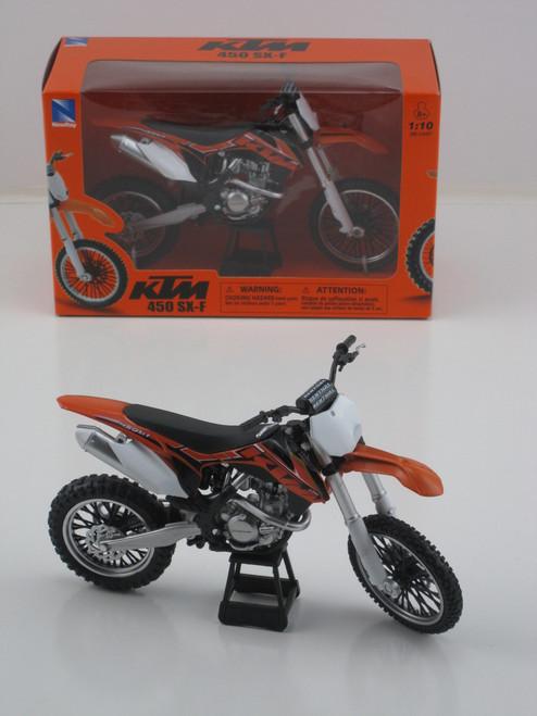 Ktm 450 Sx-f Motocross Dirt Bike 1:10
