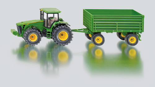 Siku Tractor with Trailer 1:50 Scale