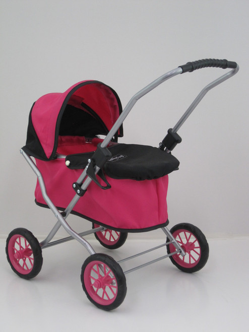 PRINCESS DOLLS PRAM - PINK