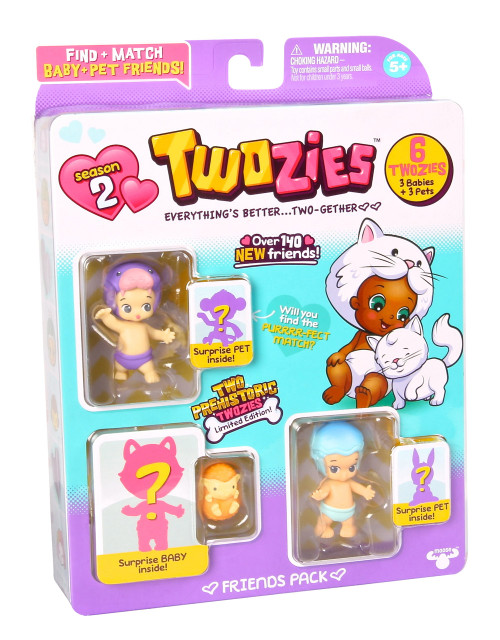 Twozies S2 Friends Pack
