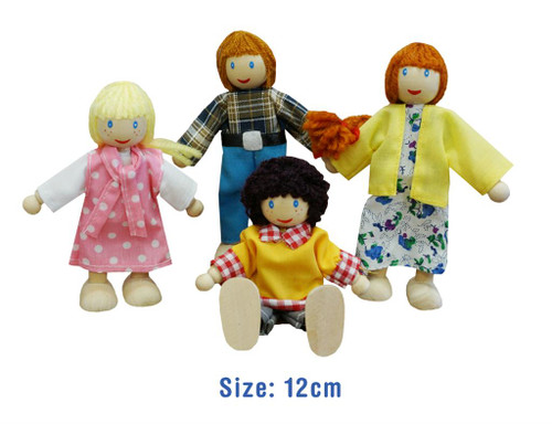 Doll Family 4pc