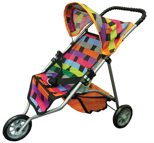 DOLL STROLLER 3 WHEELER - LATTICE