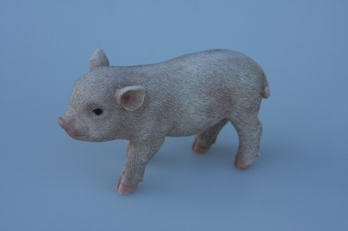 Small Pink Standing Pig