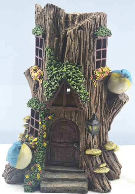 Solar stump house 28cm