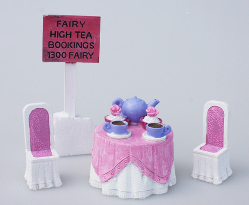 Tea party garden set