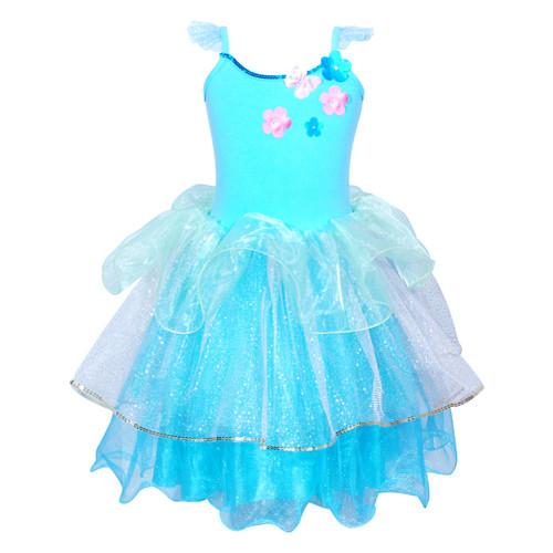 Princess dreams dress size 5/6 blue