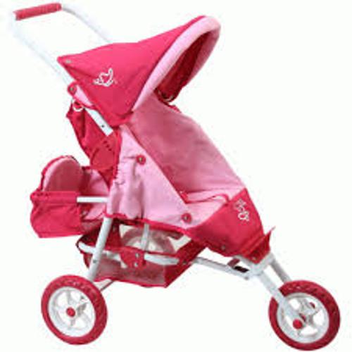 Mini marathon w/seat - butterfly pink