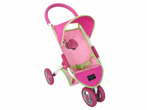 Ladybug doll stroller