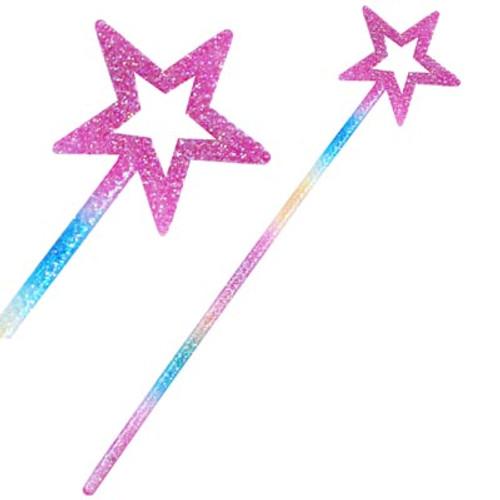 Colourful pixie wand