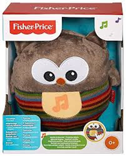 FISHER PRICE SOOTHE & GLOW OWL - BROWN