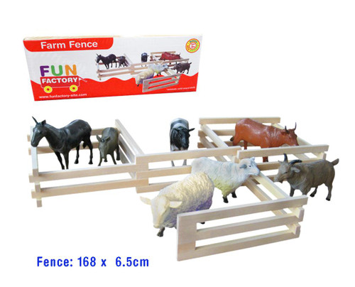 Farm fence - wooden 1.6m