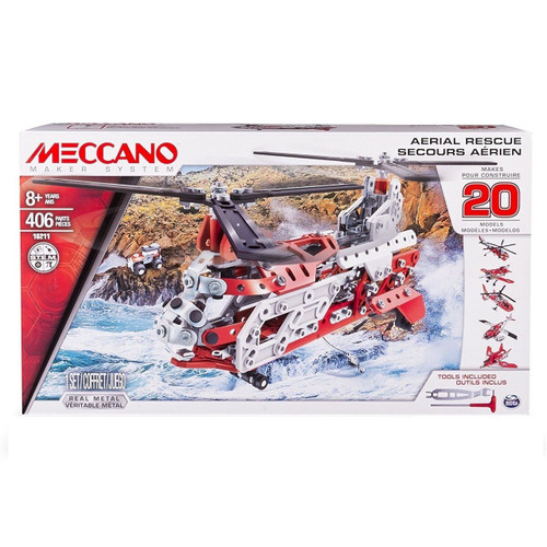 MECCANO ENGINEERING MULTI 20 MODEL SET HELICOPTER