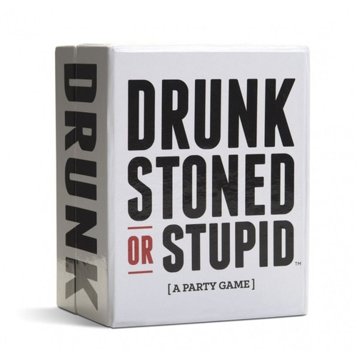 Drunk Stoned Or Stupid (a Party Game)