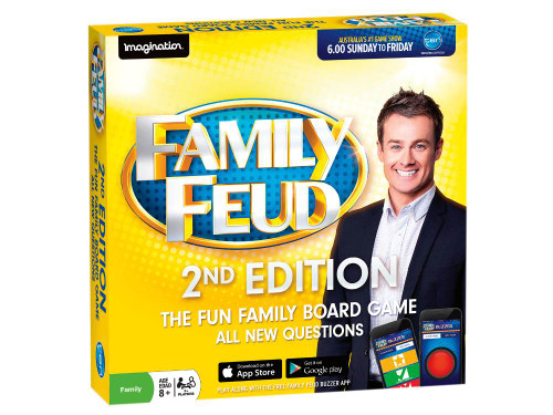 FAMILY FUED BOARD GAME SECOND EDITION
