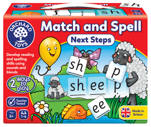 ORCHARD GAME - MATCH AND SPELL NEXT STEPS