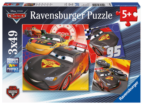 RAVENSBURGER - ADVENTURE ON THE ROAD PUZZLE 3 X 49 PCE