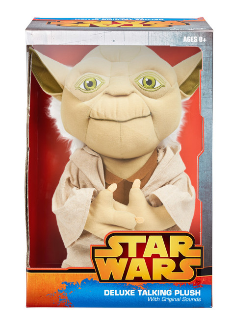 Star Wars 15 Inch Deluxe Talking Plush Yoda