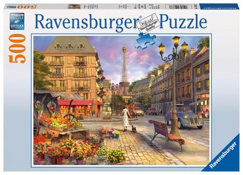 RAVENSBURGER - A WALK THROUGH PARIS PUZZLE 500 PCE