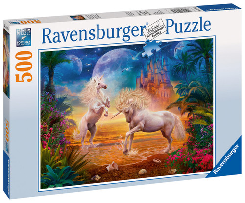 RAVENSBURGER - MAGICAL UNICORNS PUZZLE 500 PCE