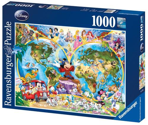 Ravensburger - Disney World Map Puzzle 1000pc