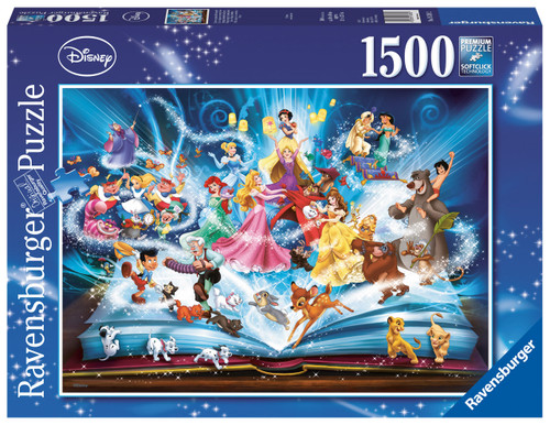 Ravensburger - disney magical storybook puzzle 1500pce