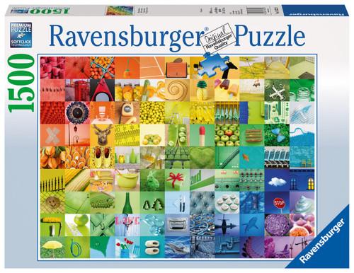 RAVENSBURGER - 99 COLORS PUZZLE 1500 PCE