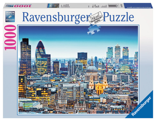 RAVENSBURGER - ABOVE LONDONS ROOFS PUZZLE 1000PC