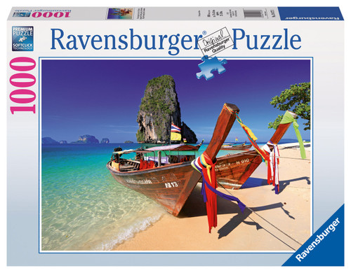 RAVENSBURGER - AT THE BEACH PUZZLE 1000 PCE