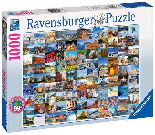 RAVENSBURGER - 99 BEAUTIFUL PLACES 2 PUZZLE 1000 PCE