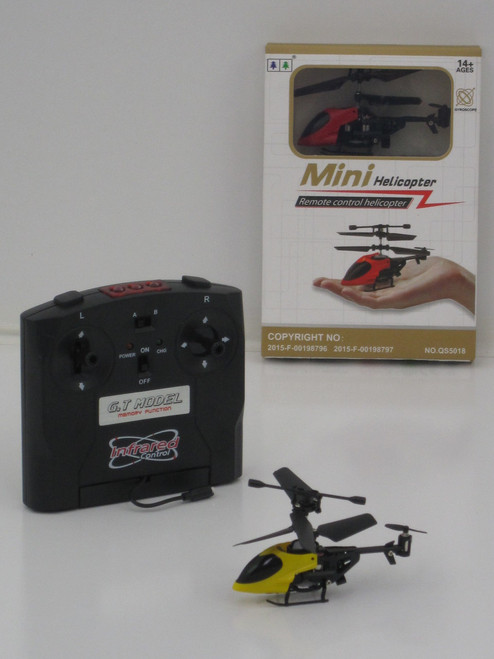 Mini Helicopter Infrared Flyer - Blue