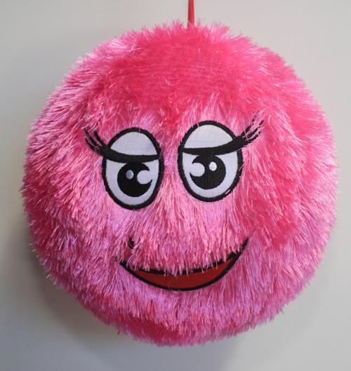 Fuzzy Ball Pink Flirty