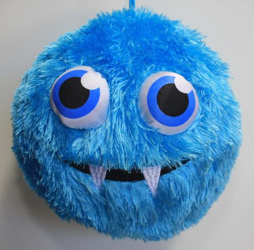 Fuzzy Ball Blue Fangs