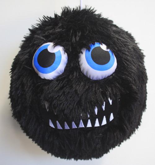 Fuzzy Ball Black Growl
