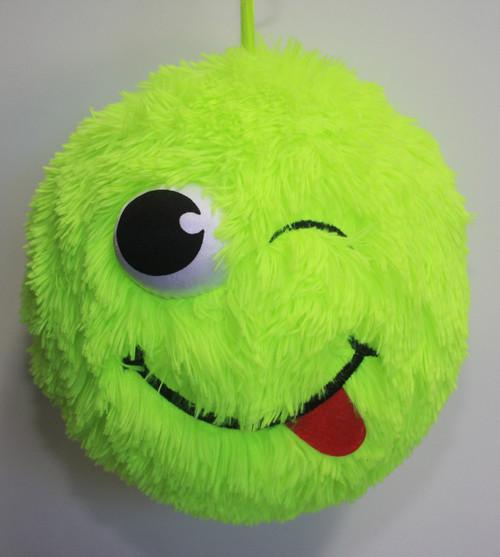 Fuzzy Ball Green Cheeky