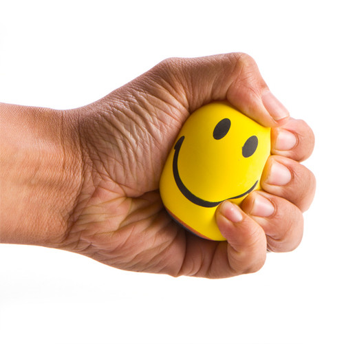 SMILEY STRESS-RELIEF BALL
