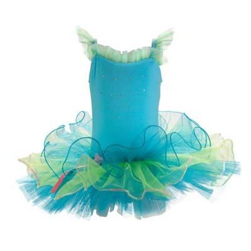 Dancing star tutu size 5/6 - blue